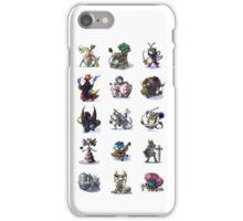 Final Fantasy Pokemon Collection Set 1 iPhone Case/Skin