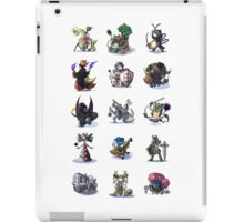 Final Fantasy Pokemon Collection Set 1 iPad Case/Skin