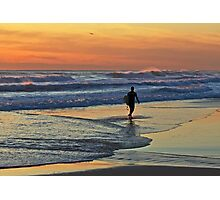 Would one day be eternity ...I would spend it out at sea ... Photographic Print