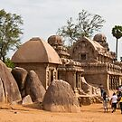 The Five Rathas by Nickolay Stanev