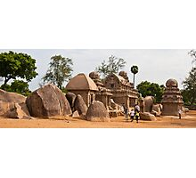 The Five Rathas Photographic Print
