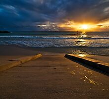 Sunset at Cottesloe 3 by Alex Asbury