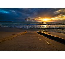 Sunset at Cottesloe 3 Photographic Print