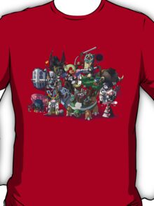 Final Fantasy Pokemon Collection Group Set 1 T-Shirt