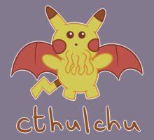 Cthulchu - Cthulhu Pikachu Kids Tee