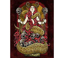 Serpent Queen Photographic Print