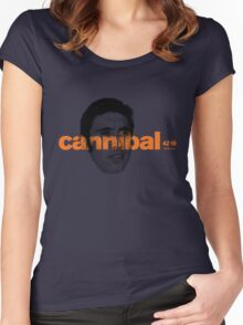 cannibal -eddie merckx Women's Fitted Scoop T-Shirt