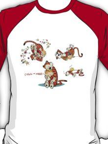 Calvin and Hobbes love moment T-Shirt