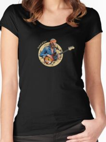 Portrait of Jaco Women's Fitted Scoop T-Shirt