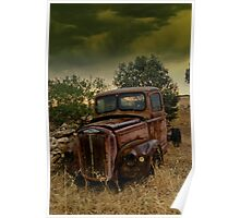 Old Wreck Poster