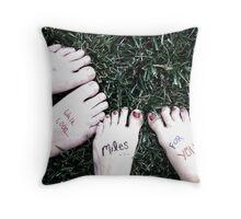Symbolic, eh? Throw Pillow