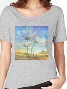 In the Half-shadow of Wild Flowers Women's Relaxed Fit T-Shirt