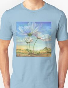 In the Half-shadow of Wild Flowers Unisex T-Shirt
