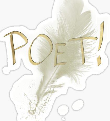 Poet Sticker