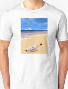 Message in the bottle Unisex T-Shirt