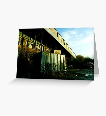 Railway Building Manchester Picadilly Greeting Card