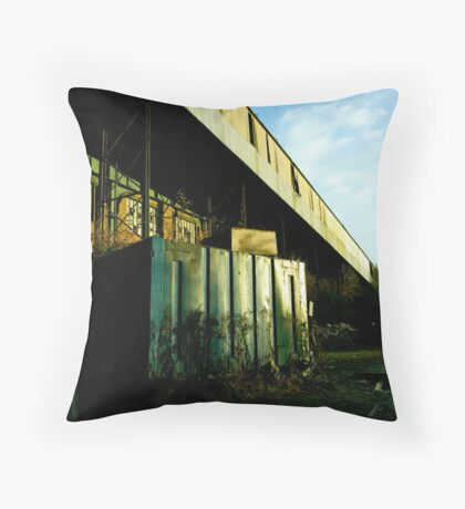Railway Building Manchester Picadilly Throw Pillow