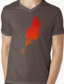 Red Quill Mens V-Neck T-Shirt