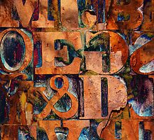 Block Letters Variation 2 by Tony Ramos