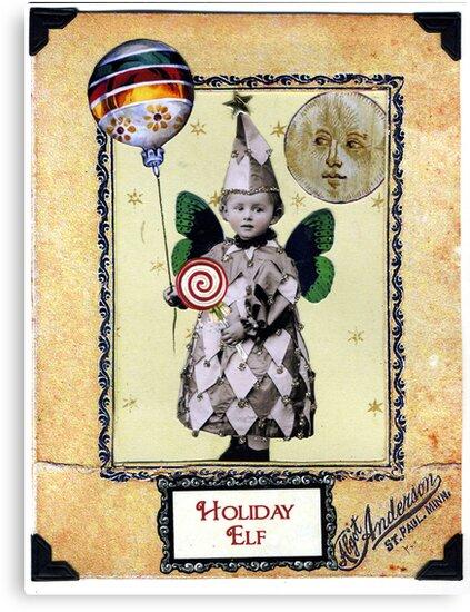 Holiday Elf by WinonaCookie
