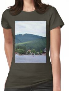 a historic Germany landscape Womens Fitted T-Shirt