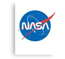 NASA Future Retro Canvas Print
