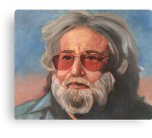 Jerry Garcia Portrait Canvas Print