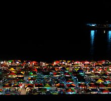 Colourful night market - Saba by C1oud