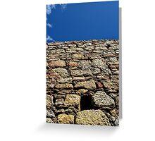 stone sky Greeting Card