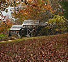The Mabry Mill In Autumn by Amy Jackson