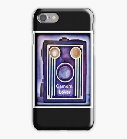 Camera Lover iPhone Case/Skin