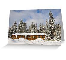 Wuksachi Lodge Greeting Card