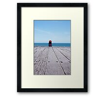 Appreciating how good we have it!!! Framed Print