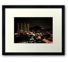Penang, Malaysia Framed Print