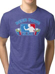 Beer Pong mvp Funny TShirt Epic T-shirt Humor Tees Cool Tee Tri-blend T-Shirt