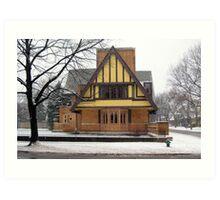 Moore-Dugal Residence Art Print