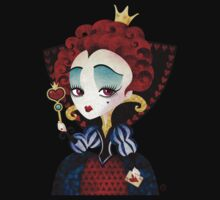Queen of Hearts Kids Tee