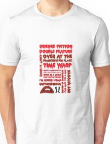 Rocky Horror Picture Show-Songs Unisex T-Shirt