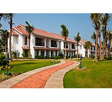 India Tropical Resort Photographic Print