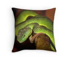 Deadly Beautiful Throw Pillow
