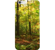 Maple Forest iPhone Case/Skin