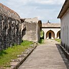 Horse Stables at Gingee Fort by Nickolay Stanev