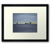 WHIMSY! Framed Print