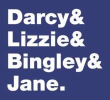 Darcy & Lizzie & Bingley & Jane. by nimbus-nought