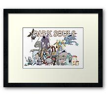 Another Monster Horde Framed Print