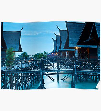 Kapalai Dive Resort - The Huts Poster