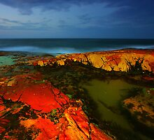 The Rocks at Night by David  Hibberd