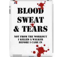Blood Sweat & Tears iPad Case/Skin