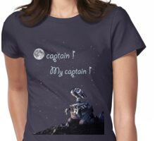 Ô Captain My Captain Womens Fitted T-Shirt