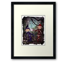 I'll Put A Spell On You Framed Print